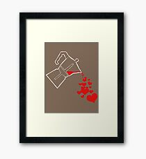For the love of (GOOD) coffee... Framed Print