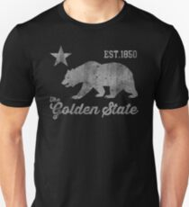 California Golden State 1850 Unisex T-Shirt