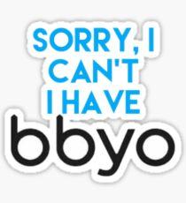 Sorry, BBYO Sticker