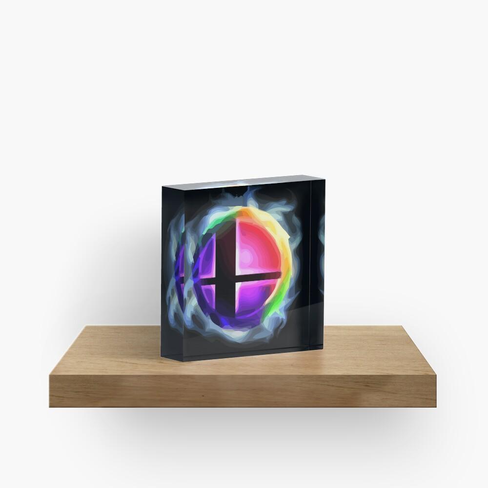 Smash Ball Acrylic Block