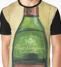 Bubbly Champagne 3 Graphic T-Shirt