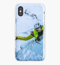 Cryotherapy Ice Climbing iPhone Case/Skin