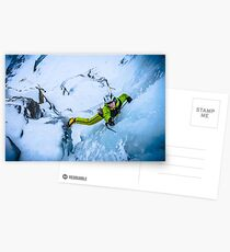 Cryotherapy Ice Climbing Postcards