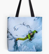 Cryotherapy Ice Climbing Tote Bag