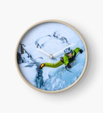 Cryotherapy Ice Climbing Clock