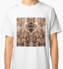 Happy New Year Gold sparkly fireworks Classic T-Shirt