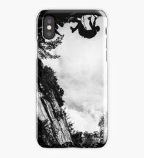 Dry Tool Climber Greg Boswell iPhone Case