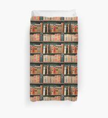 Antique Book Bindings Duvet Cover