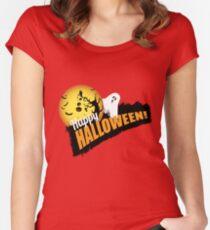 Happy Halloween Women's Fitted Scoop T-Shirt