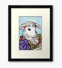 Lamb of Spring Framed Print