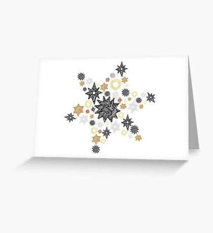 Starey Starey Stars Greeting Card