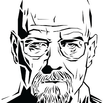 Breaking Bad: Heisenberg stencil by Digitize