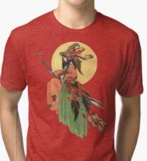 Autumn Witch Tri-blend T-Shirt