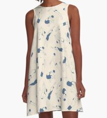 On Your Marks A-Line Dress