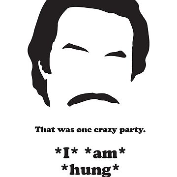 Ron Burgundy - Hung ovaaah! by gazbar