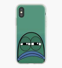spongebob mad fish iPhone Case