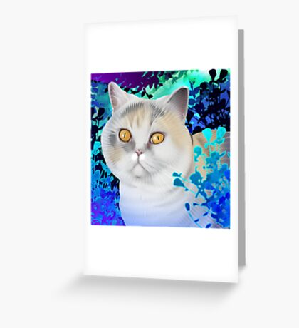 Flo Greeting Card