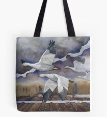 Geese in the Skagit Valley Tote Bag
