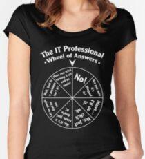 Das IT-Profi-Rad der Antworten. Tailliertes Rundhals-Shirt