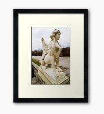Sphinx in Austria Framed Print