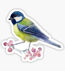 Tit bird Sticker