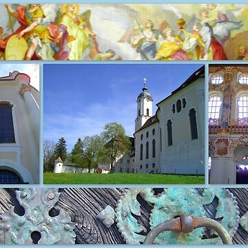 Wieskirche UNESCO world heritage site by angel1