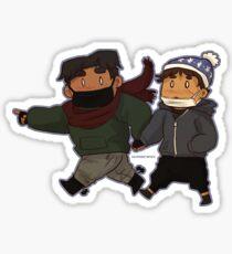 Winter Hance Sticker