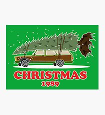 Christmas Vacation 1989 Photographic Print