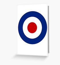 Brittish Royal Air Force Greeting Card