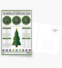 The Aroma of Christmas Trees Postcards