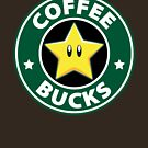 Mario Star Bucks Coffee  by stfn
