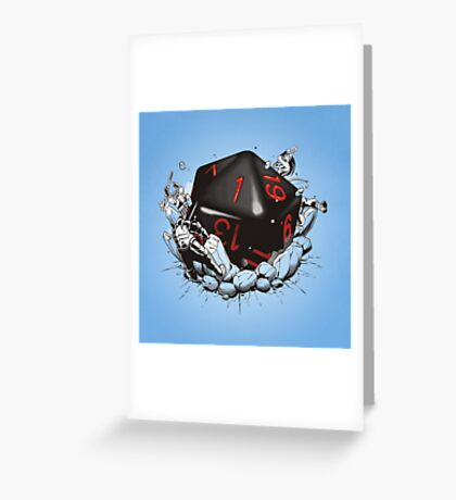 CRITICAL FAILURE Greeting Card