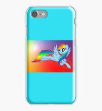 Rainbow Dash Brony T-shirt iPhone Case/Skin