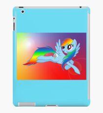 Rainbow Dash Brony T-shirt iPad Case/Skin