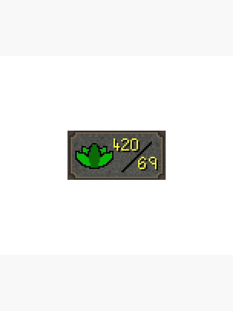 Dank 420/69 skill runescape by ragsmaroon