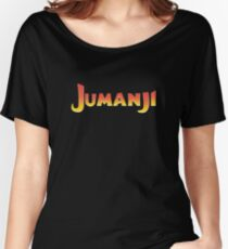 Jumanji | Board Game | Coloful | Fan Art Design Women's Relaxed Fit T-Shirt