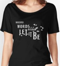 The Beatles, Let It Be Women's Relaxed Fit T-Shirt