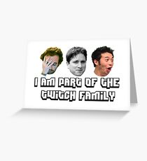 Twitch Family Greeting Card