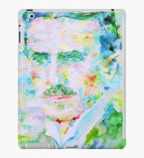 NIKOLA TESLA watercolor portrait iPad Case/Skin