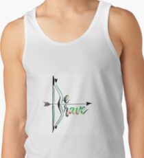 Be Brave With Bow and Arrow Tank Top