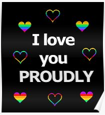 I love you proudly 2 Poster