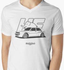 Lancia Delta HF Integrale Evo 2 Men's V-Neck T-Shirt