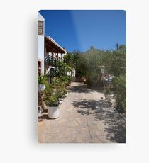 Don't waste the water Metal Print
