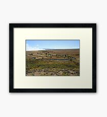 Prairie Fire Framed Print