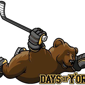 Days of Y'Orr Flying Bear Logo by daysofyorr