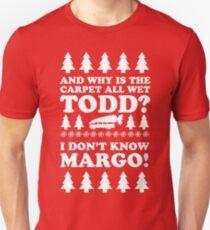 Durchnässtes Weihnachten Slim Fit T-Shirt
