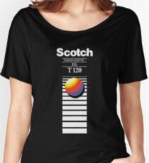 Retro VHS tape vaporwave aesthetic Women's Relaxed Fit T-Shirt