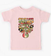 Peace-Love-Music Kids Tee