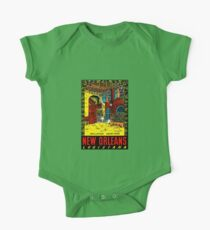 New Orleans Louisiana Vintage Travel Decal Kids Clothes