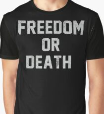 Lester Bangs - Freedom or death Graphic T-Shirt